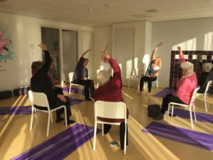 65+ ouderenyoga Yogaworkz Hoofddorp