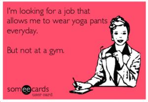 Werk jij of geef je yogales?